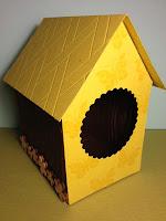 Vogelhuisje gemaakt van Stampin Up producten