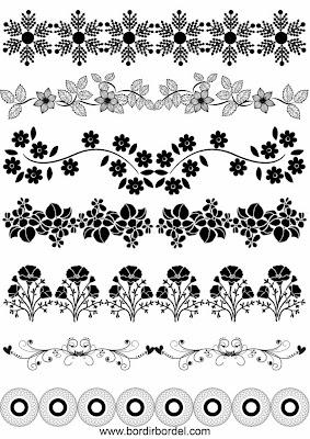 Contoh 7 jenis motif bordir pinggiran 2