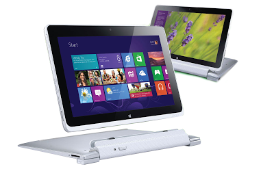 desain acer iconia w510 PC tablet dengan windows 8