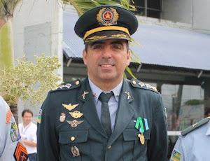 Maj. Fábio Machado, Comandante da CPRv.