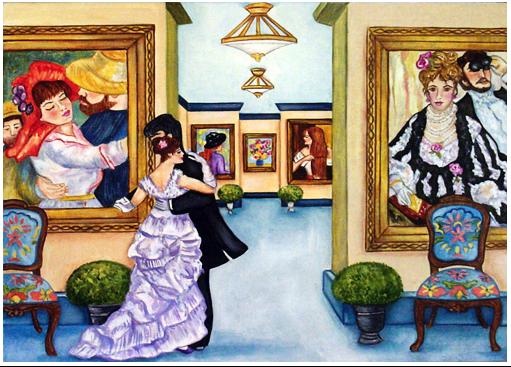 Dancing with Renoir