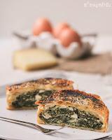 Tartaletas philo de espinacas y queso