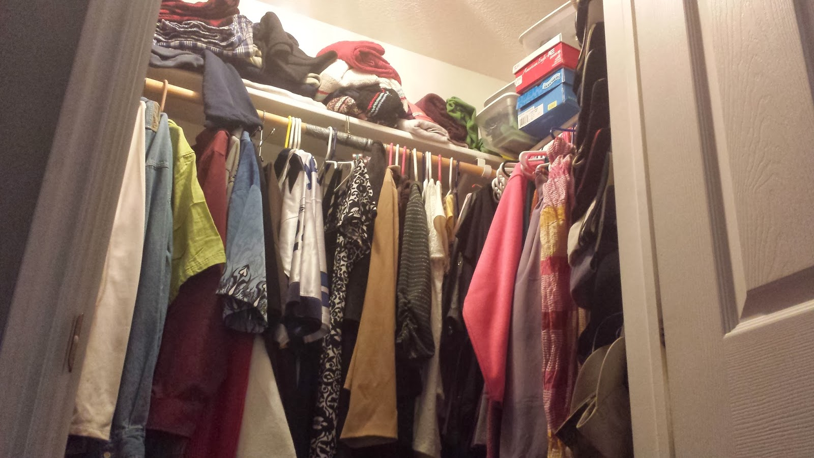 A Girl Named Michael Organizing My Closet Part 1 Or Is