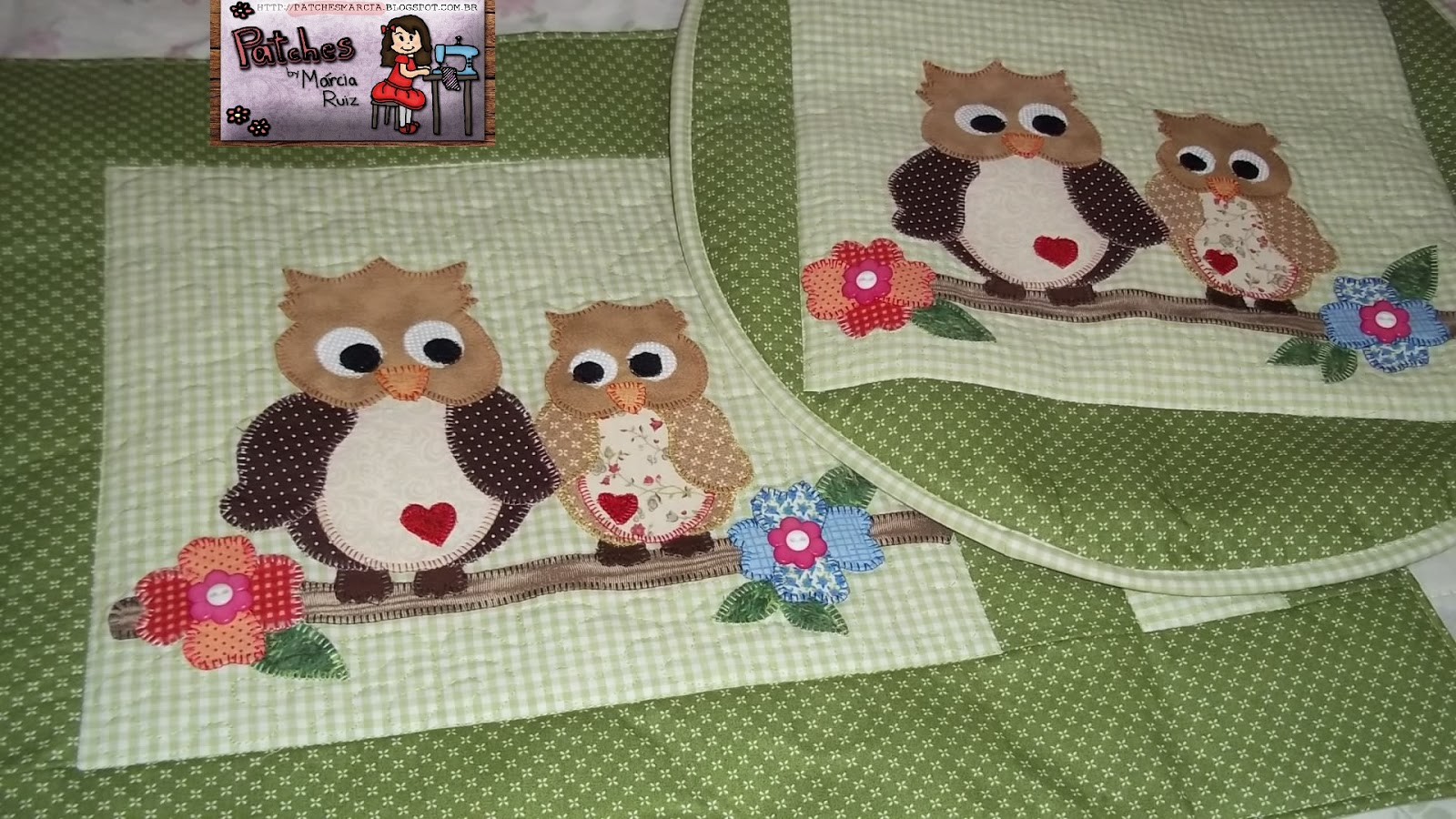 Patchwork Tapete De Banheiro : Patches by M?rcia Ruiz: jogo de banheiro em patchwork e patch