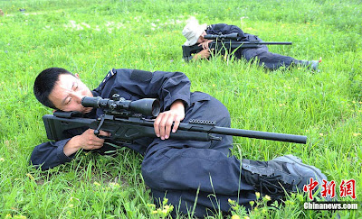 China's New 7.62mm precision sniper rifle