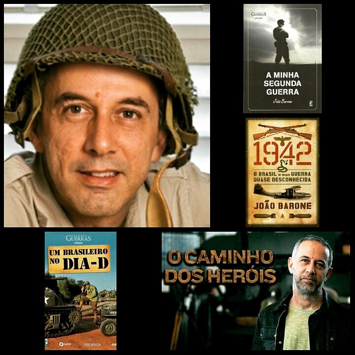 João Barone (Os Paralamas do Sucesso) e a segunda guerra mundial