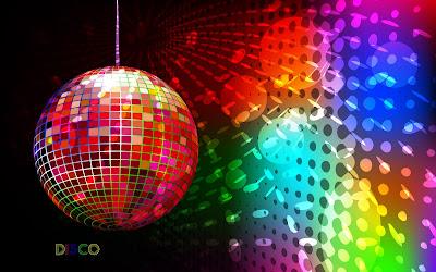 Colorful disco wallpaper - music wallpaper