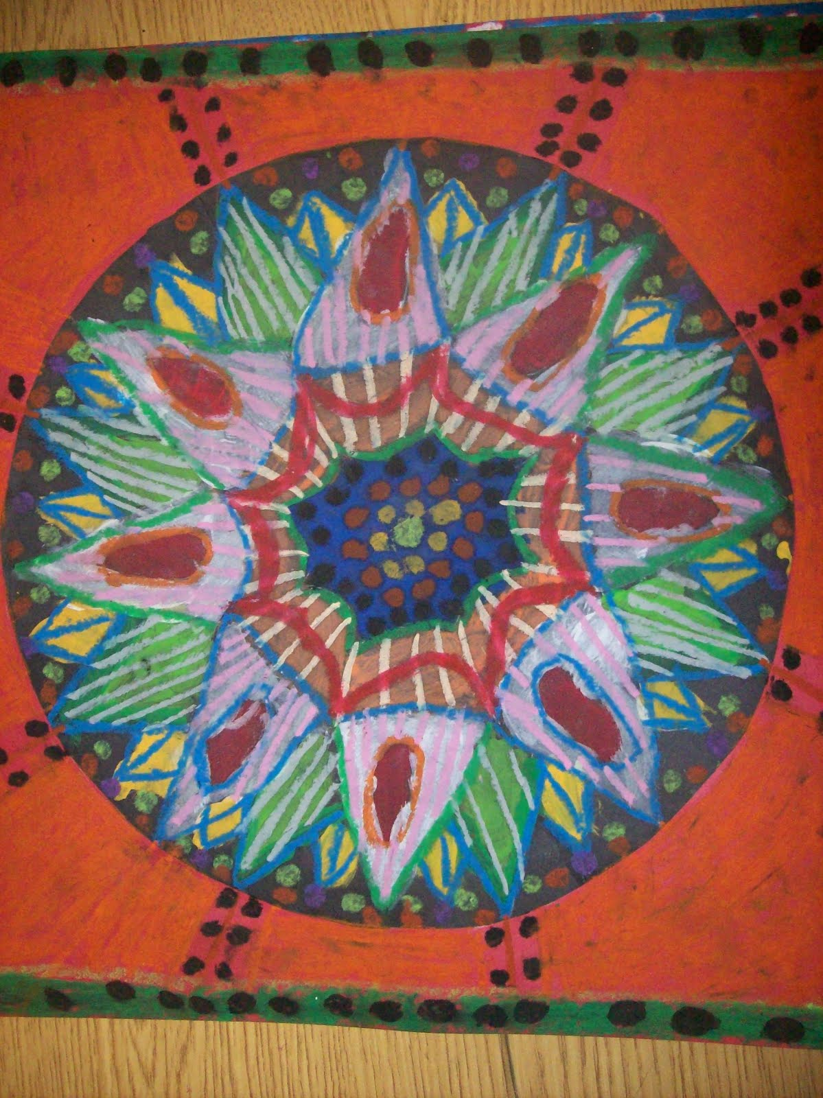 CCE Art Happenings: Radial Balance, Beautiful in all ...
