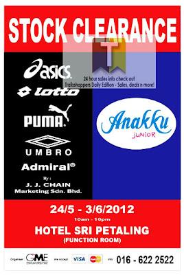 Anakku PUMA Stock Clearance 2012