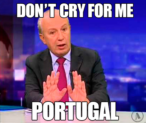 Santana Lopes - Don't cry for me Portugal…