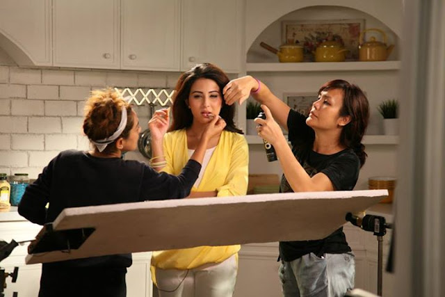 Ushna Shah & Osman Khalid Butt TUC TVC Behind The Scene Picures