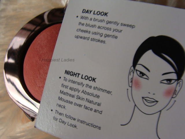 Lakme Absolute Cheek Chromatic Baked Blush Day and Night Look+baked blush