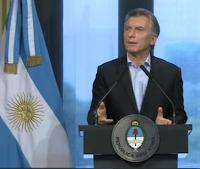 """Macri: """"Merecemos debatir el código penal juvenil"""""""