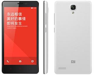 Spesifikasi dan Harga Xiaomi Redmi Note 4G Terbaru