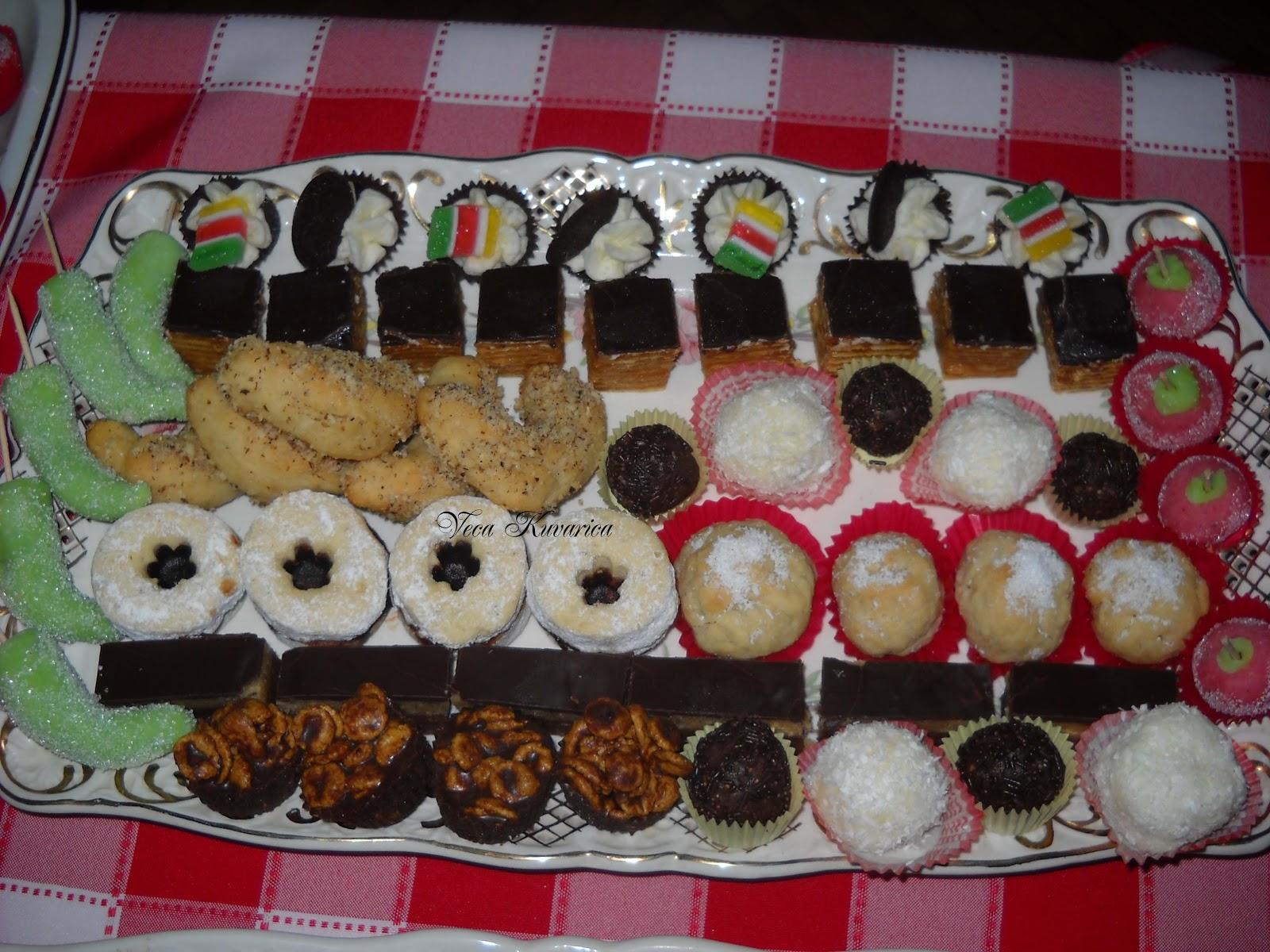 Kuvarica Veca: Sitni slavski kolačići :)♥