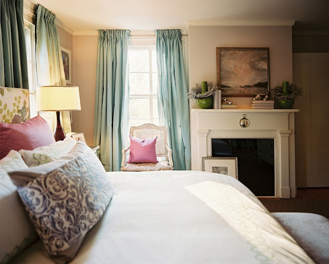 Ruth burts interiors soothing paint colors for the bedroom for Calming bedroom colors