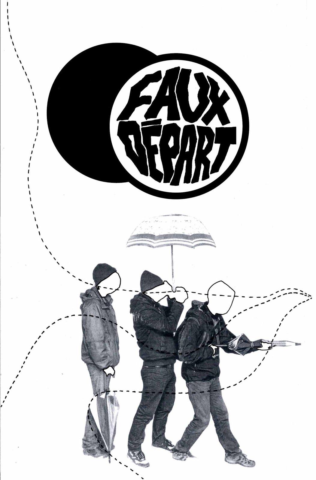 FAUX DEPART (punk rock, Lyon) - démo 2016