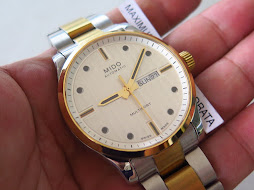 MIDO MULTIFORT WHITE DIAL - TWO TONE - AUTOMATIC