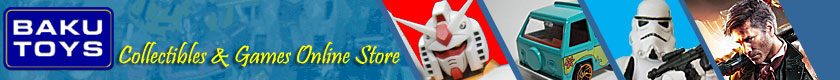 BakuToys Collectibles & Games Online Store