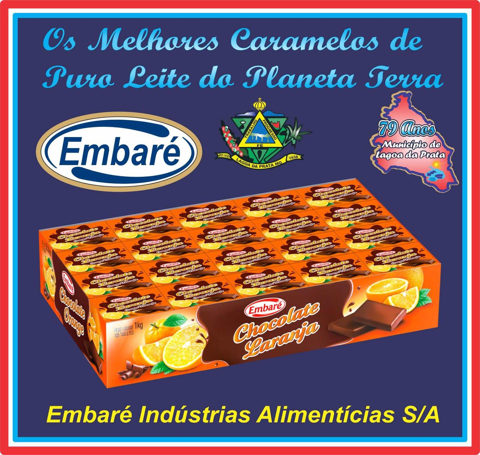 O Melhor Caramelo de Leite do Mundo é da Embaré