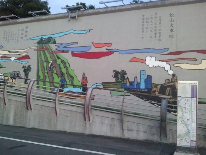 基隆河畔自行車道即景01