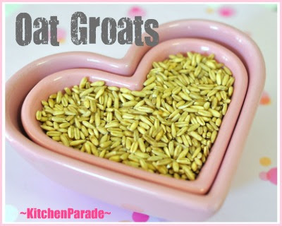 Oat Groats for Oatmeal Everyday ♥ KitchenParade.com, how and why to make oatmeal your morning ritual. NIne reasons why, four ways to cook.
