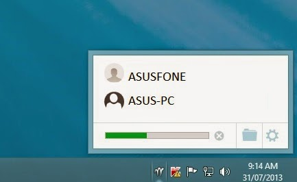 cara kirim file lewat wifi