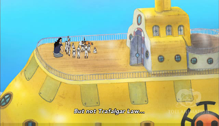 One Piece Episode 513, Pirates Get on the Move! Astounding New World, 動き出す海賊たち! 驚天動地の新世界, Trafalgar law crew