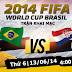 Brazil vs Croatia : Chuyên gia cá độ bóng đá World Cup 2014 bảng A đêm 12/6
