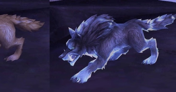 World of Saz: WoD Alpha: New Ghost Wolf and Feral Spirit Models