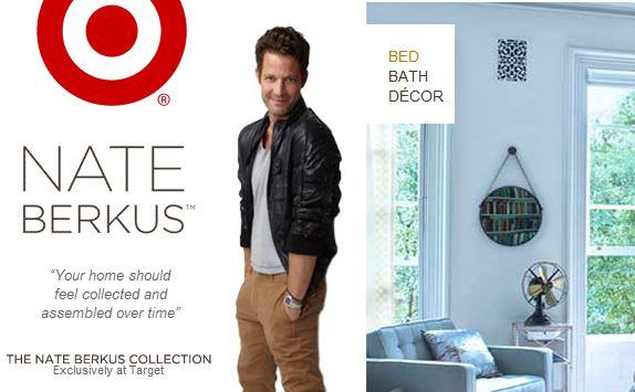 Target Addict Nate Berkus For Target Debuts Online And In