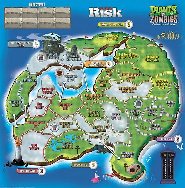 gnomos de jardim venda : gnomos de jardim venda:Defenda ou domine a cidade no jogo de tabuleiro de Plants Vs. Zombies