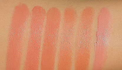 edward bess lipstick swatches