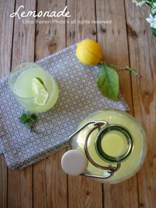 Ricetta della limonata con la menta