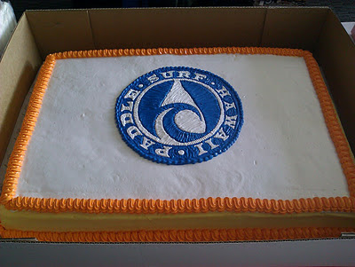 Paddle Surf Hawaii Grand Opening - PSH Cake