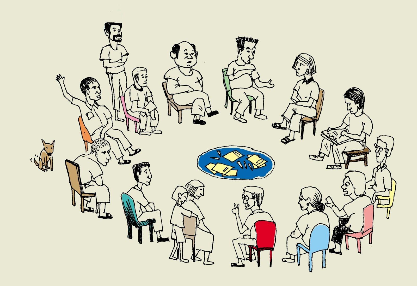 坐進圓圈裡,打開更多可能性!