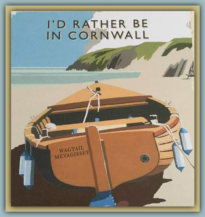 I´d rather be in Cornwall