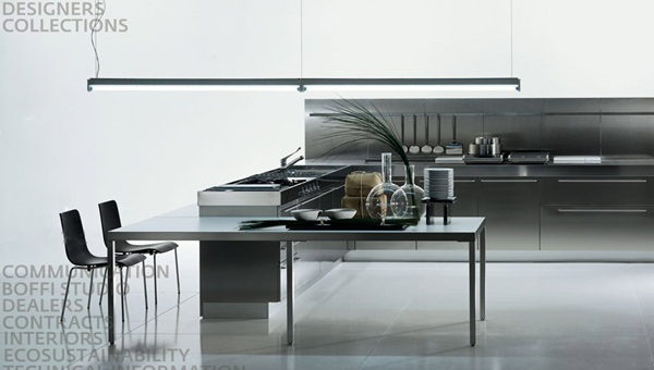 Flexible and Durable: Modern Stainless Steel Kitchen Designs