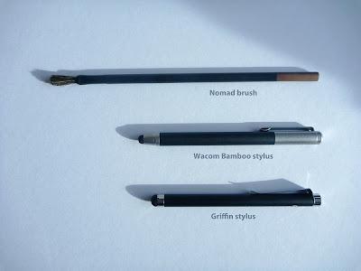 bamboo vs griffin vs nomad brush