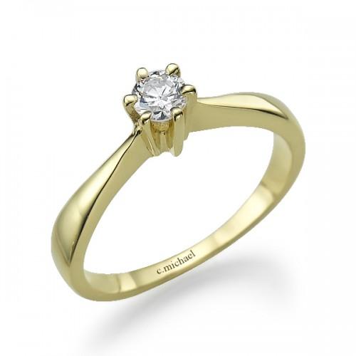 טבעת אירוסין mc-2010-1