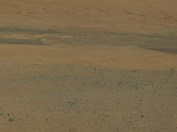 Первые цветные снимки марсохода  Curiosity