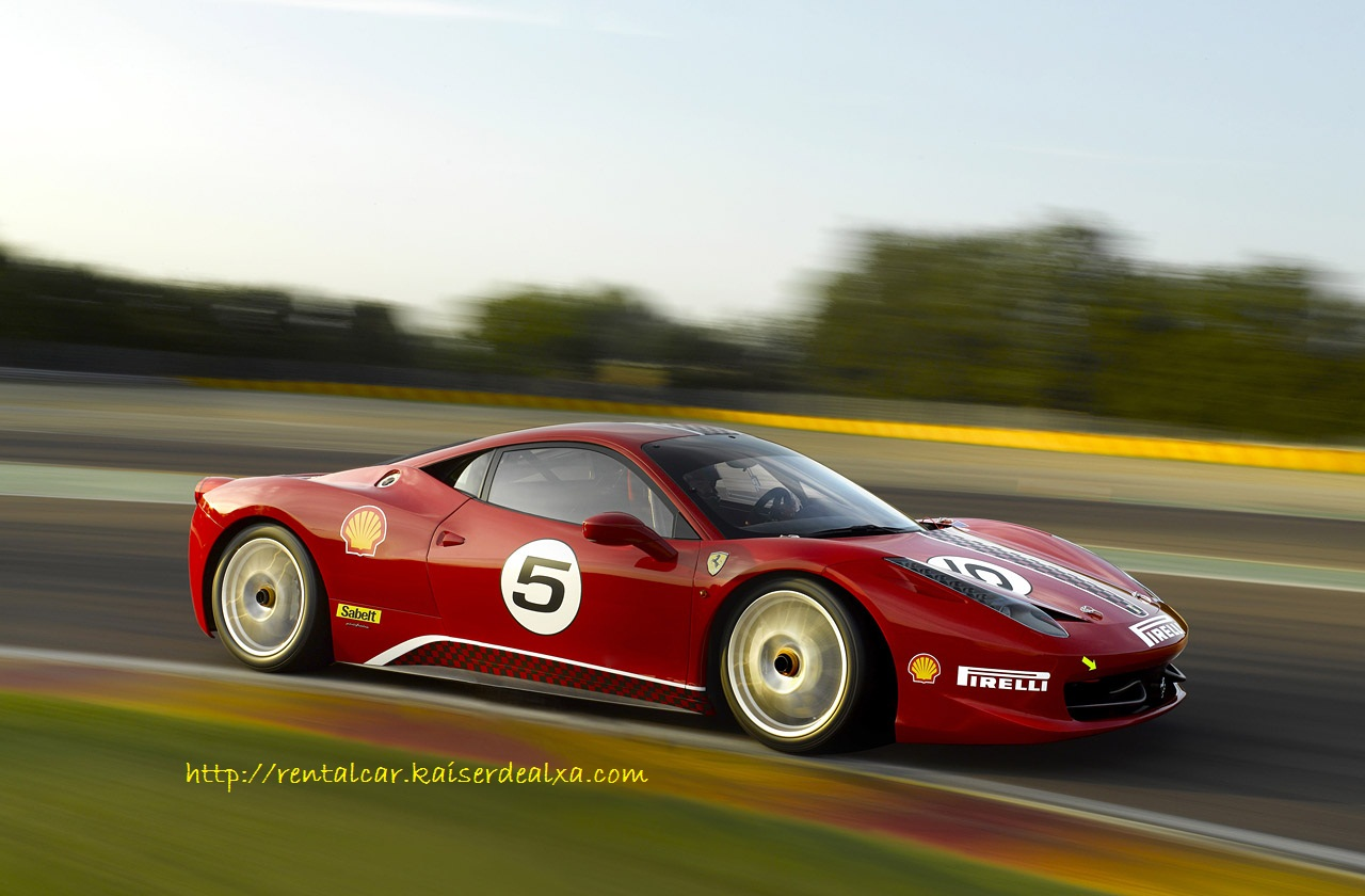 Video of the new Ferrari 458