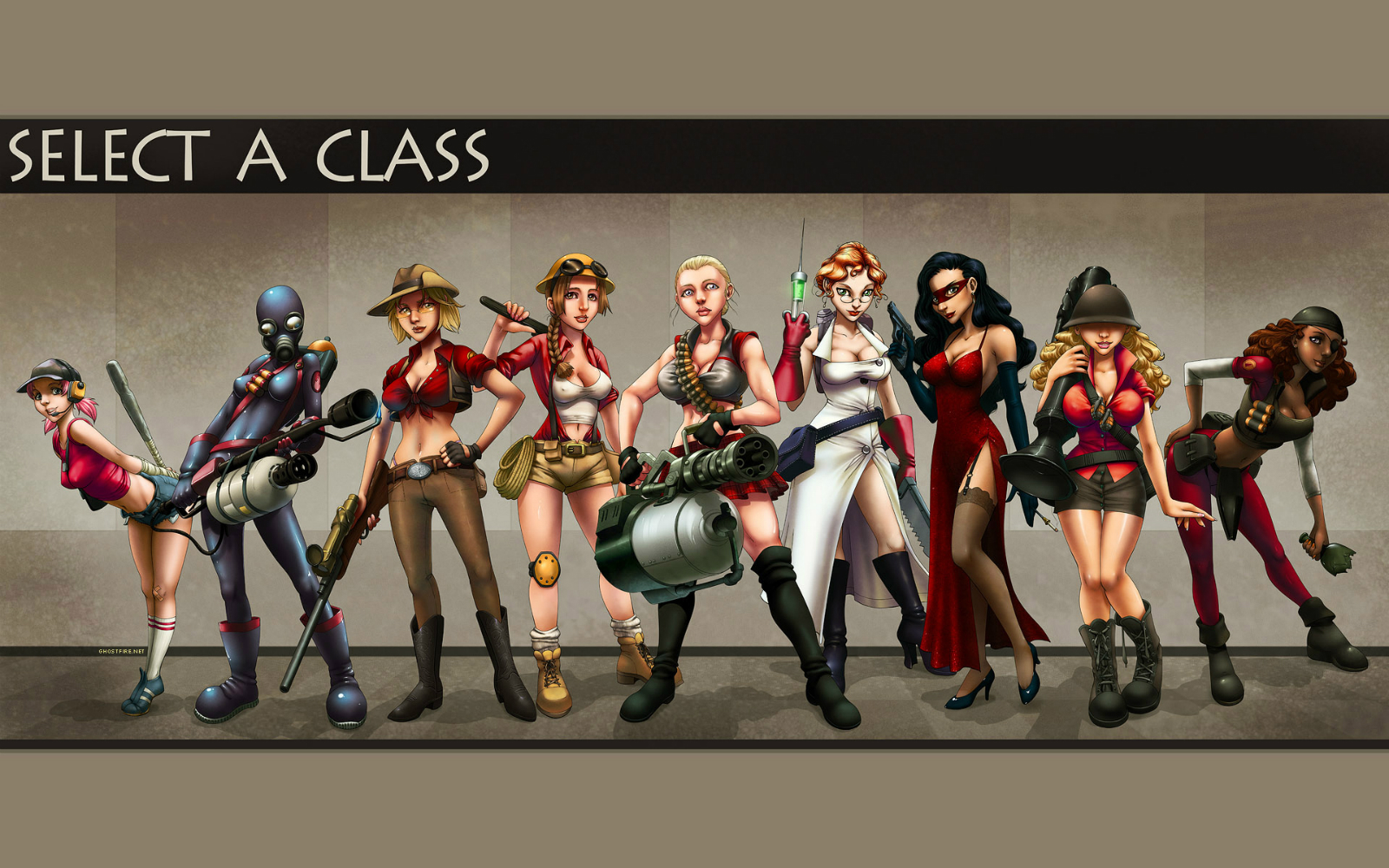 Team Fortress II HD Game Wallpapers