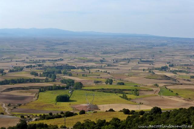 Vista sobre la comarca de La Bureba