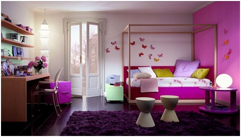 COLORS FOR BEDROOMS - BEDROOMS BY COLORS - BEDROOMS AND COLORS - MEANING OF A COLOR