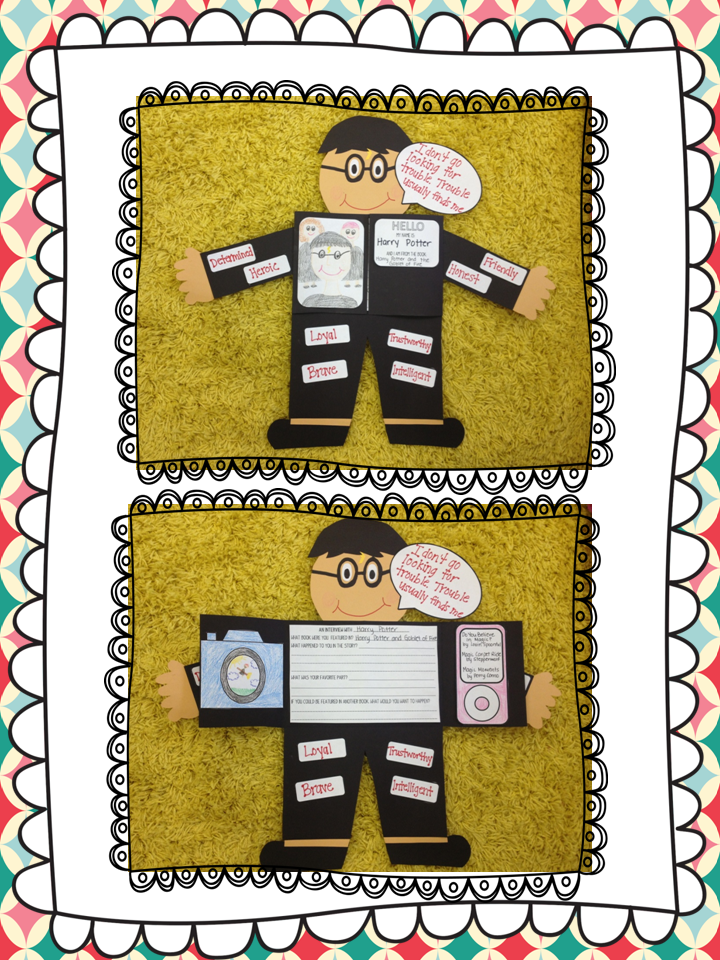 http://www.teacherspayteachers.com/Product/Interactive-Foldable-Character-Project-Book-Report-676993