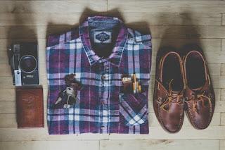 men dressing