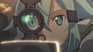 Avatar Asady Shino, znanej w Gun Gale Online jako Sinon