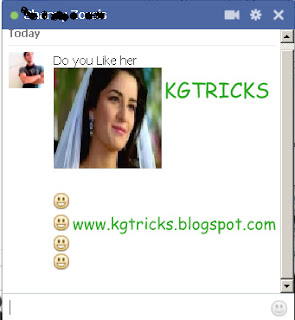 Send Any Picutre in Facebook Chat