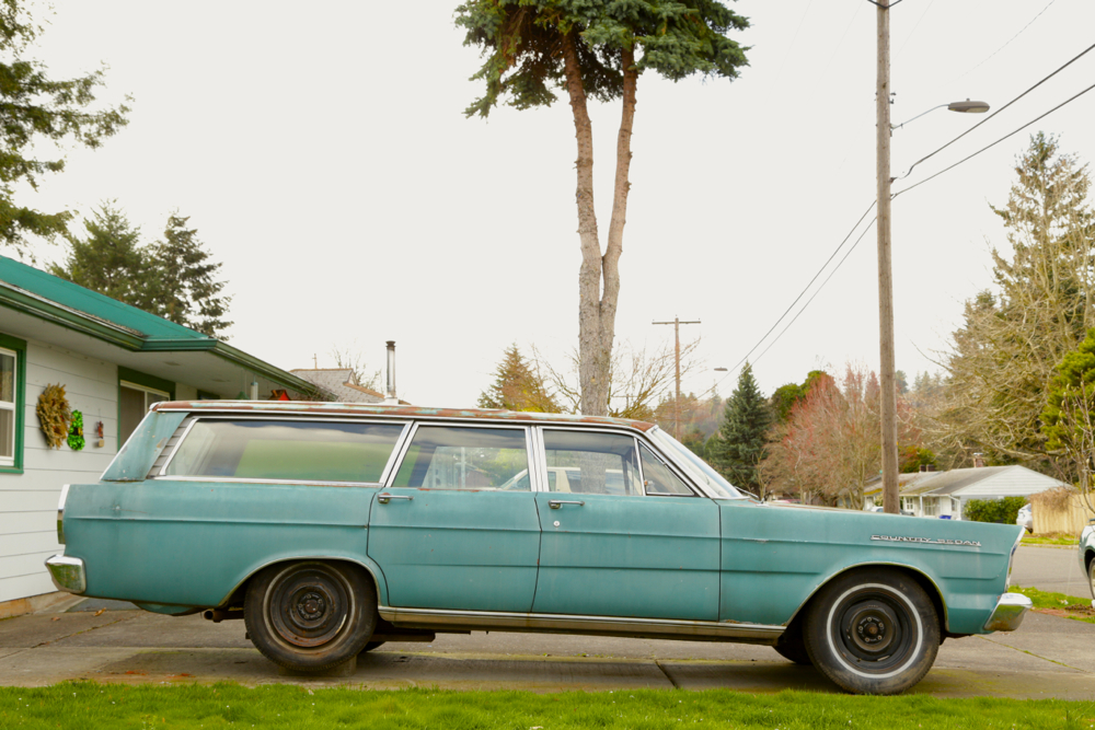 1965 Ford Country Sedan Wagon.